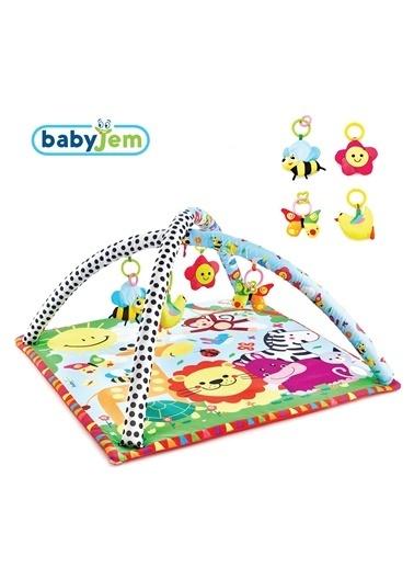 Baby Jem Oyun Halısı Renkli